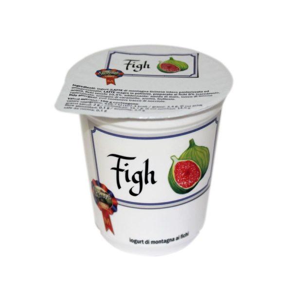 Yogurt Di Montagna Ai Fichi Figh 180g Nostrani Del Ticino Agroval