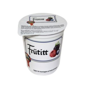 Yogurt Di Montagna Ai Frutti Di Bosco Frütitt 180g Nostrani Del Ticino Agroval