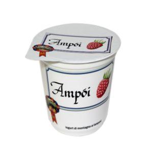 Yogurt Di Montagna Ai Lamponi Ampòi 180g Nostrani Del Ticino Agroval