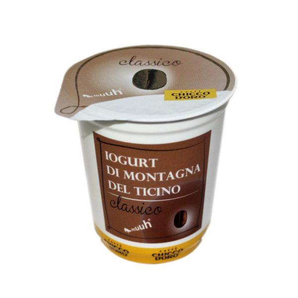 Yogurt Di Montagna Al Caffè Classico 180g Chicco dOro Agroval
