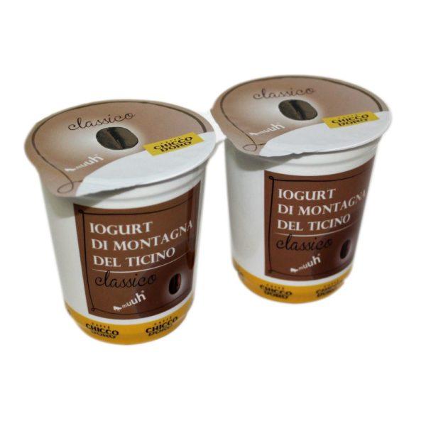 Yogurt Di Montagna Al Caffè Classico 2x180g Chicco dOro Agroval