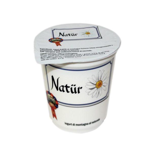 Yogurt Di Montagna Al Naturale Natür 180g Nostrani Del Ticino Agroval