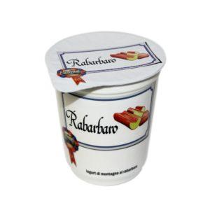 Yogurt Di Montagna Al Rabarbaro 180g Nostrani Del Ticino Agroval
