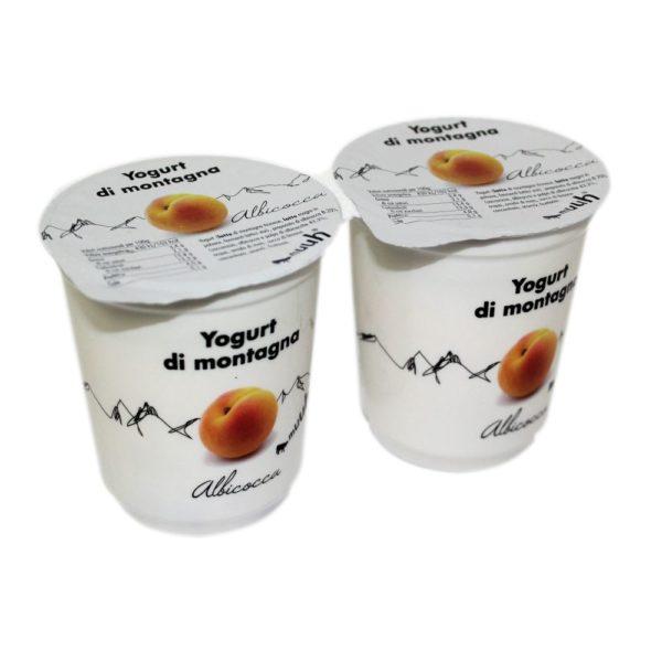 Yogurt Di Montagna Albicocca 2x180g Muuh Agroval