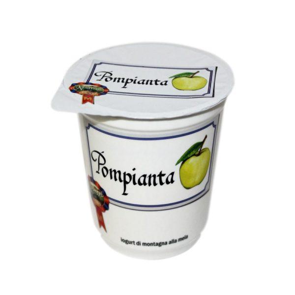 Yogurt Di Montagna Alla Mela Pompianta 180g Nostrani Del Ticino Agroval