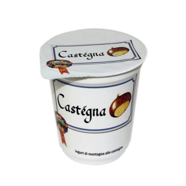 Yogurt Di Montagna Alle Castagne Castégna 180g Nostrani Del Ticino Agroval