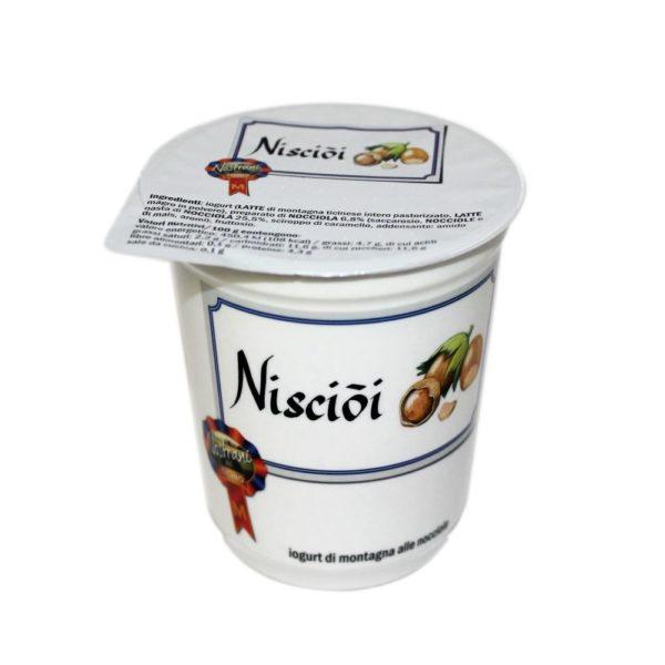 Yogurt Di Montagna Alle Nocciole Nisciòi 180g Nostrani Del Ticino Agroval