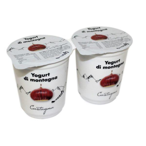 Yogurt Di Montagna Castagna 2x180g Muuh Agroval