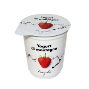 Yogurt Di Montagna Fragola 180g Muuh Agroval
