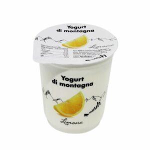 Yogurt Di Montagna Limone 180g Muuh Agroval