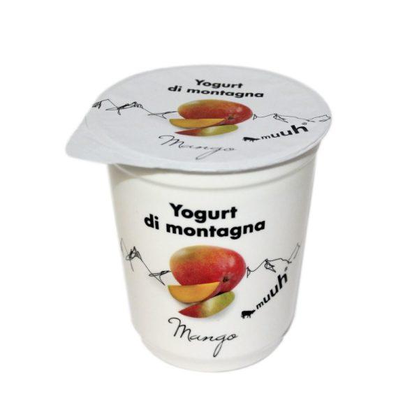 Yogurt Di Montagna Mango 180g Muuh Agroval