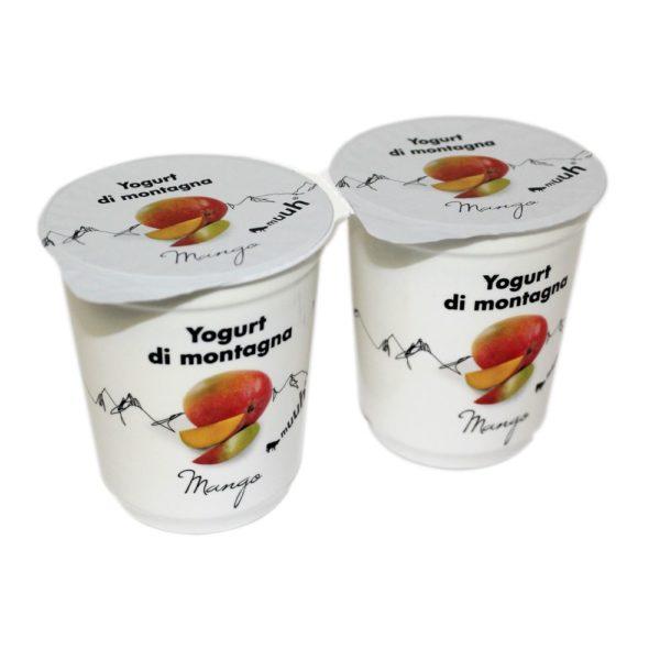 Yogurt Di Montagna Mango 2x180g Muuh Agroval