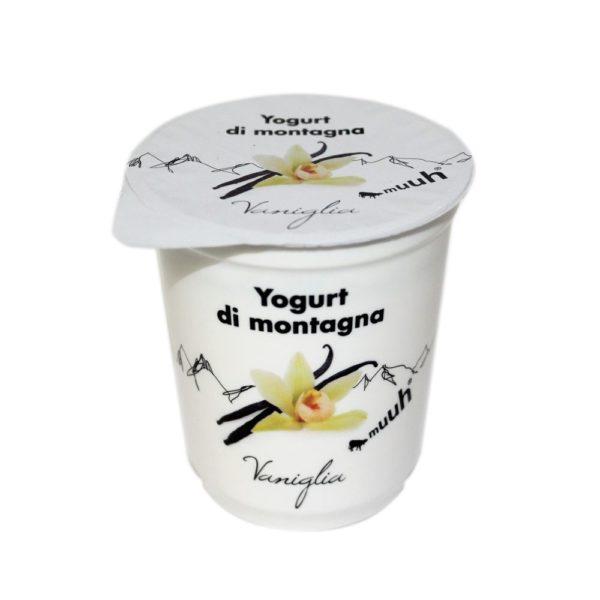 Yogurt Di Montagna Vaniglia 180g Muuh Agroval