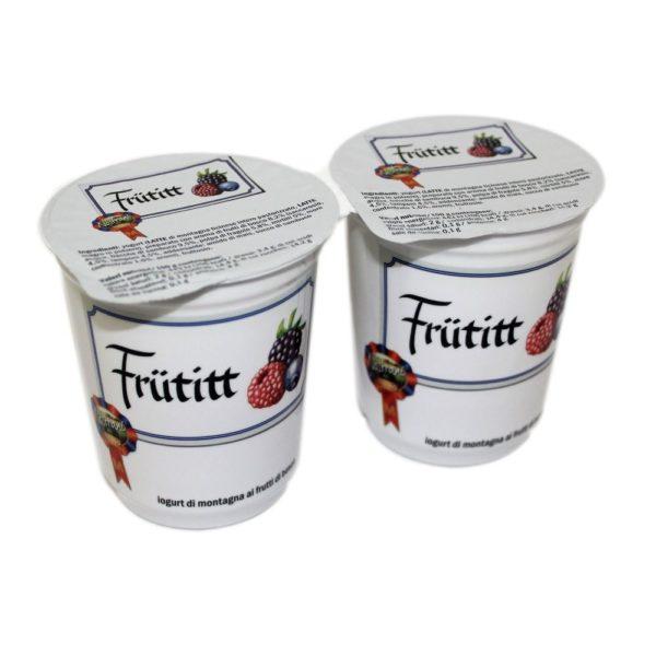 Yogurt Di Montagna Ai Frutti Di Bosco Frütitt 2x180g Nostrani Del Ticino Agroval