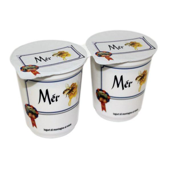 Yogurt Di Montagna Al Miele Mér 2x180g Nostrani Del Ticino Agroval