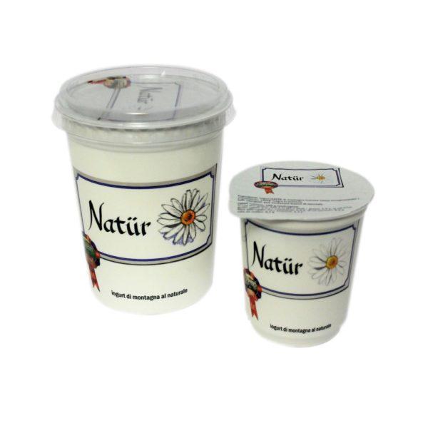 Yogurt Di Montagna Al Naturale Natür 180g 500g Nostrani Del Ticino Agroval
