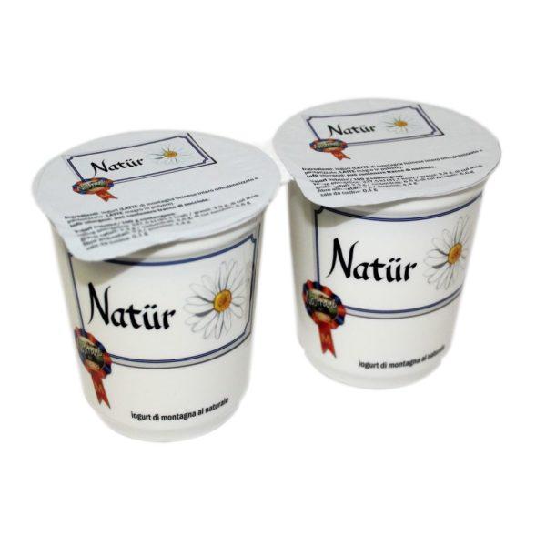 Yogurt Di Montagna Al Naturale Natür 2x180g Nostrani Del Ticino Agroval