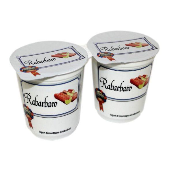 Yogurt Di Montagna Al Rabarbaro 2x180g Nostrani Del Ticino Agroval