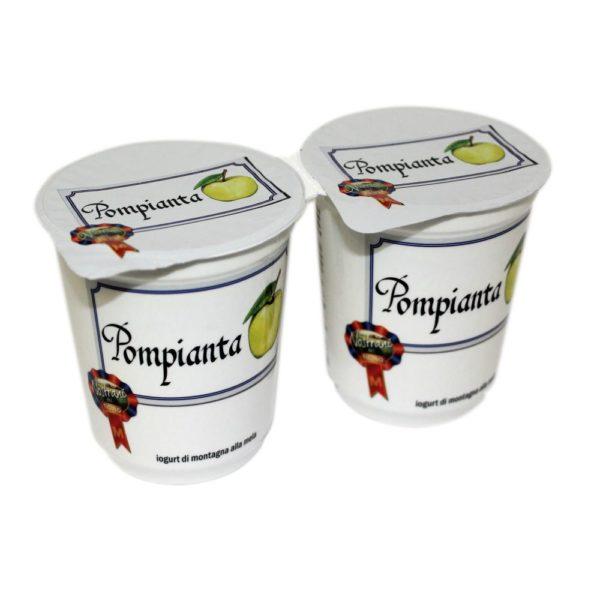 Yogurt Di Montagna Alla Mela Pompianta 2x180g Nostrani Del Ticino Agroval