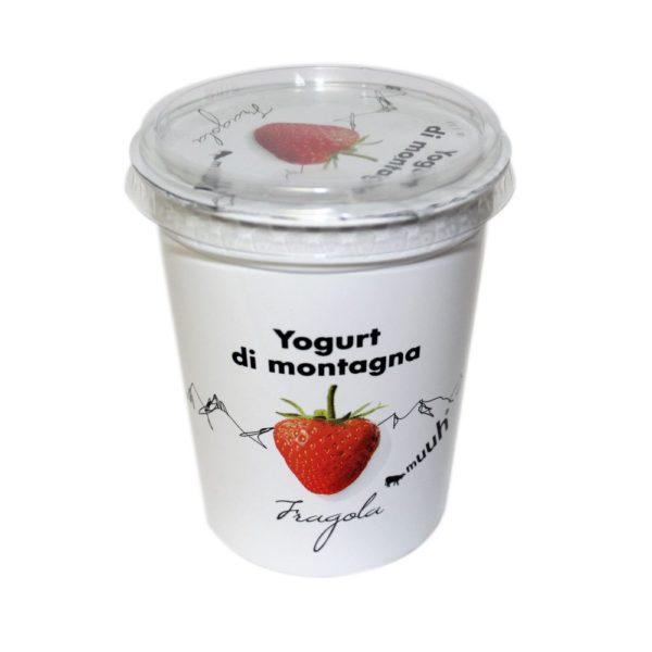 Yogurt Di Montagna Fragola 500g Muuh Agroval