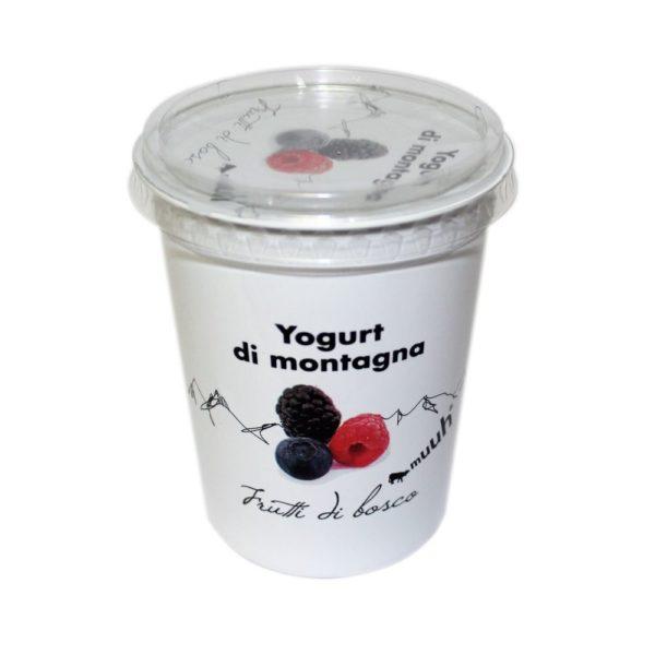 Yogurt Di Montagna Frutti Di Bosco 500g Muuh Agroval