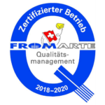 Fromarte Qualitats Management 2018-2020 Agroval
