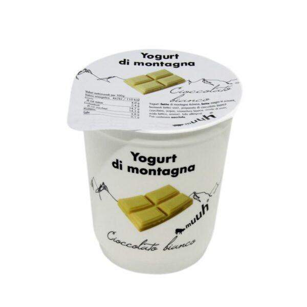 Yogurt Di Montagna Cioccolato Bianco 180g Muuh Agroval