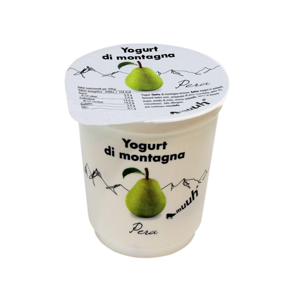 Yogurt Di Montagna Pera 180g Muuh Agroval